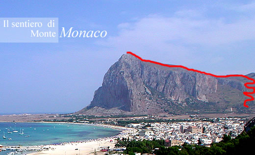 Trails And Trekking On Monte Monaco In San Vito Lo Capo