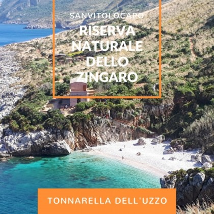 Tonnarella dell'Uzzo is the most beautiful beach of Italy.
