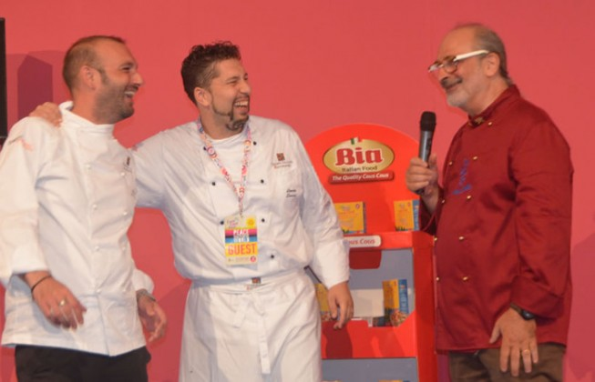 Stefano De Gregorio wins the Italian championship and became the owner of the Italian team at the Cous Cous Fest 2015