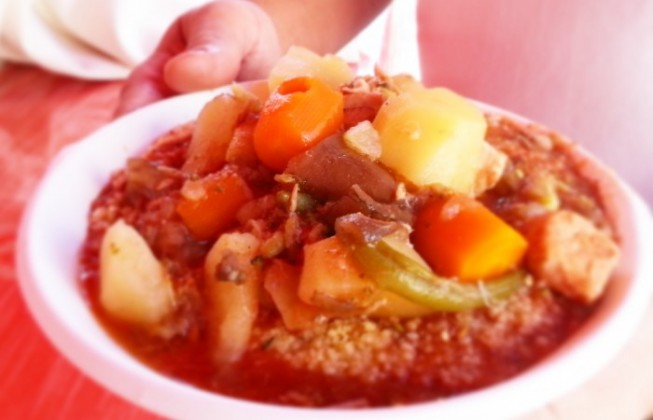 Why eating couscous is better than eating meat?