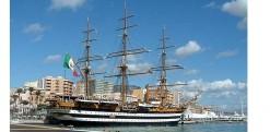 Dal 5 al 7 Giugno l'Amerigo Vespucci  fa tappa nel porto di Trapani