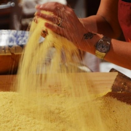 A lezione di Couscous... da Enzo Battaglia