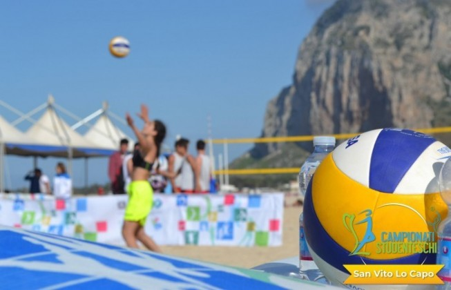 2019 World Beach Volleyball Championship in San Vito Lo Capo.