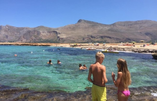 Vacanze a Castelluzzo con bambini