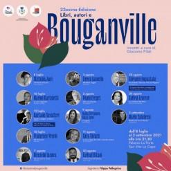 Riparte con la XXII edizione la rassegna letteraria Libri, autori e bouganville
