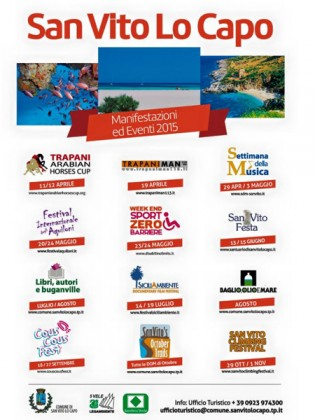 Come to discover all the events of the summer in San Vito Lo Capo