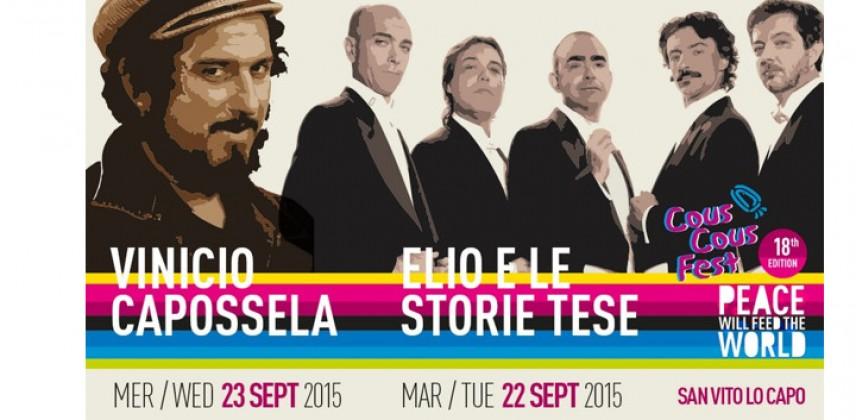 Il Cous Cous  Fest 2015 e la grande musica a San Vito Lo Capo