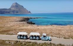 Ritorna il trenino Ercolino sulle spiagge di Baia Santa Margherita
