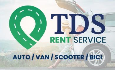 TDS rent service, noleggio auto, scooter e bici