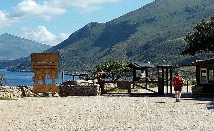 Il Miraggio ingresso nord Riserva Zingaro