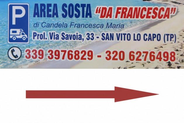 Area sosta Auto e Camper da Francesca e Aldo