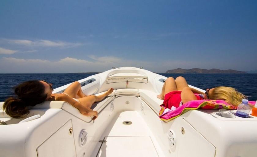 Favignana e Levanzo in barca