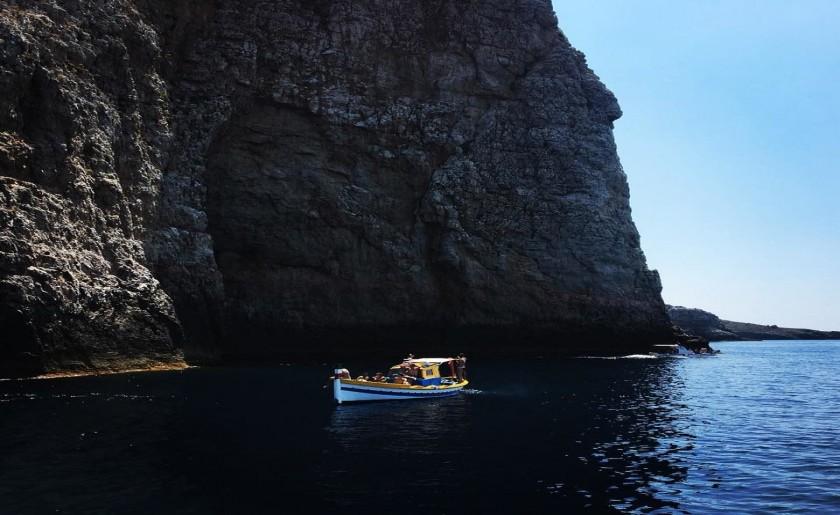 Escursione in barca a Marettimo
