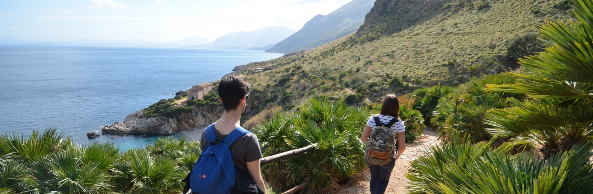 Riserva dello zingaro...trekking vista mare