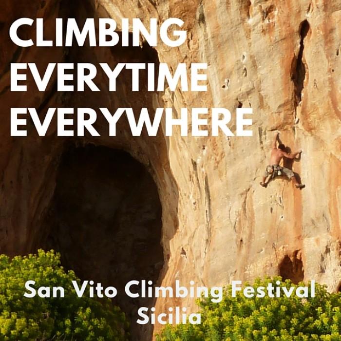 Dal 12 al 15 ottobre ritorna il SAN VITO CLIMBING FESTIVAL