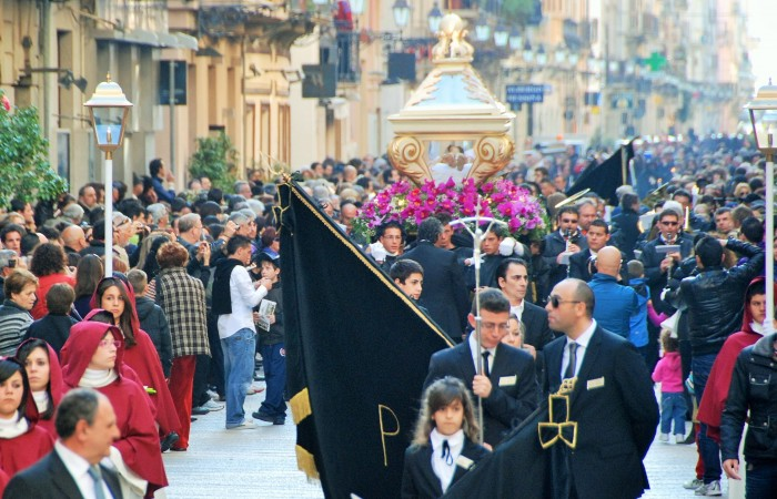 Easter time in western Sicily