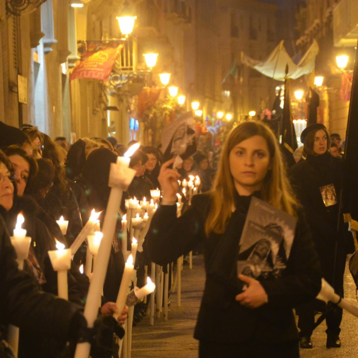 The Procession of the Misteri di Trapani