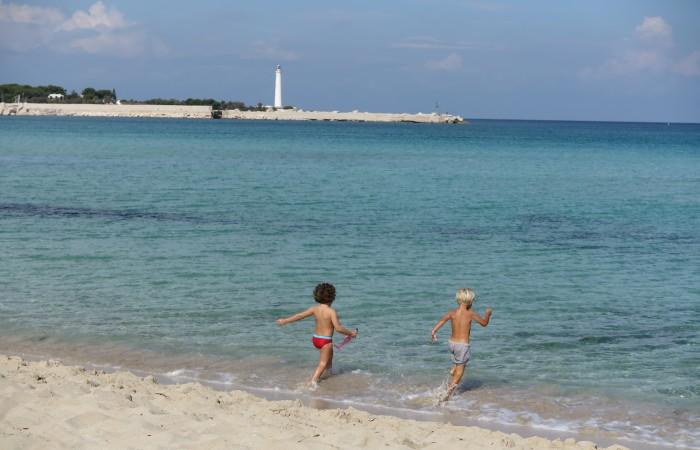 San Vito Lo Capo, a suitable beach  for children!