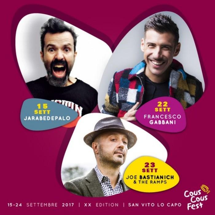 Cous Cous Fest a San Vito Lo Capo  15 - 24 Settembre 2017