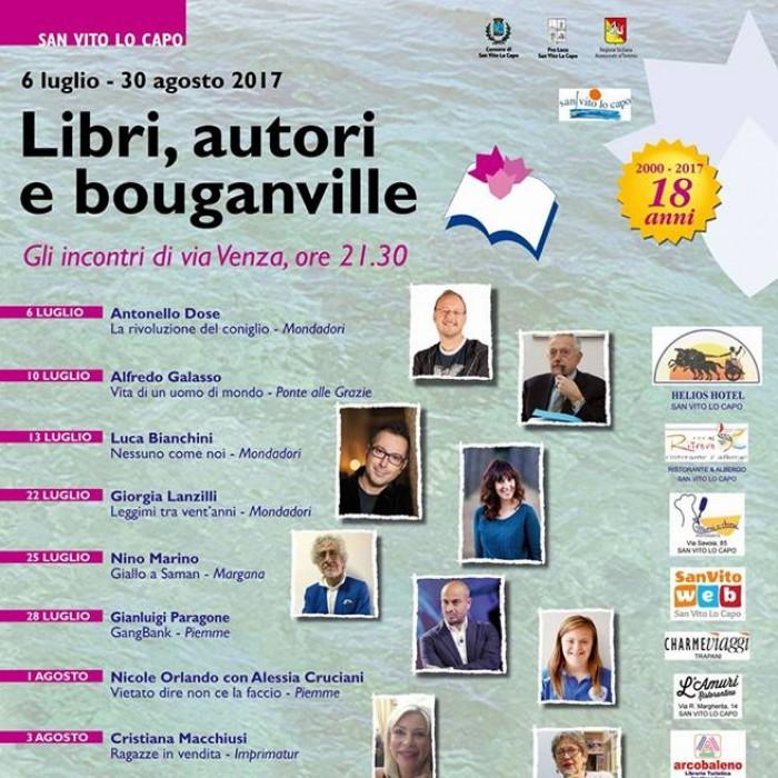 18^ edizione di Libri, Autori e Bouganville a San Vito Lo Capo