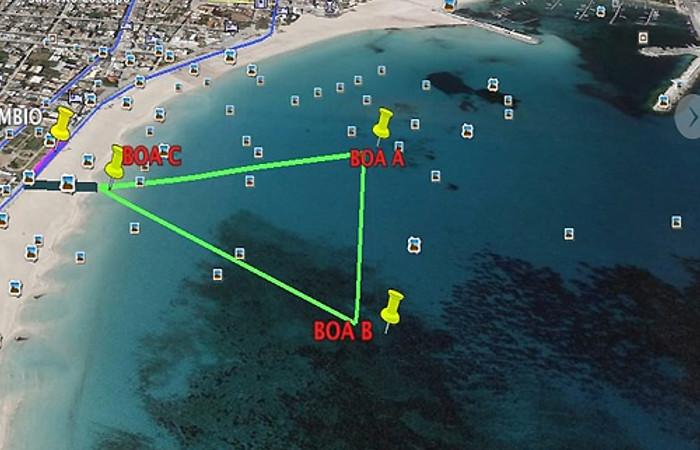 Trapaniman113 a San Vito Lo Capo gara Triathlon per super atleti – aprile 2014